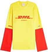 Vetements DHL Long Sleeve Top