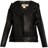Vetements Schott leather biker jacket