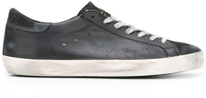 Golden Goose distressed Super Star sneakers