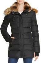 Aqua Matte Chelsea Puffer Coat