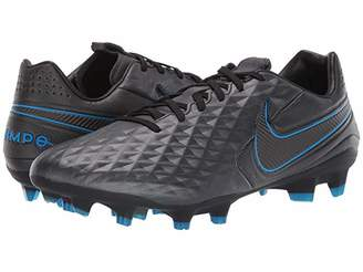Nike Tiempo Legend 8 Pro FG (Black/Black/Blue Hero) Cleated Shoes