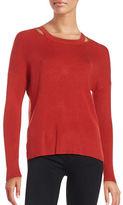 Context Cutout Ribbed Sweater