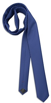 HUGO BOSS Silk Geometric Neat Skinny Tie