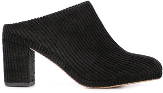 Soludos ribbed design mules