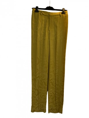 Stine Goya Yellow Trousers for Women