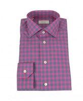Eton York Twill Check Shirt
