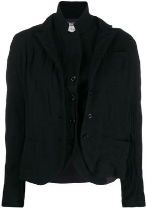 Kristensen Du Nord Layered Button Jacket