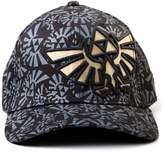 Bioworld Nintendo Legend of Zelda Triforce Logo AOP Baseball Cap Hat