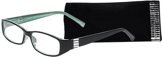 Select A Vision Select-A-Vision Women's Victoria Klein Crystals 9092 Turquoise Reading Glasses 27 mm