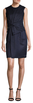 Karen Millen Draped Gathered Sheath Dress