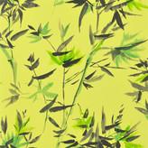 Designers Guild Shanghai Garden - Bamboo Wallpaper - PDG652/01 Lemongrass