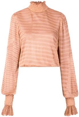 Cecilia Prado knitted Naly blouse