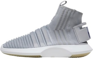 adidas Crazy 1 Sock ADV Primeknit Trainers Grey Two/Grey Two/Real Purple