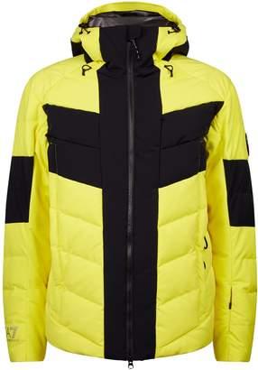 Emporio Armani Chevron Quilted Ski Jacket