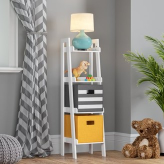 RiverRidge Home RiverRidge 4-Tier Ladder Shelf - White