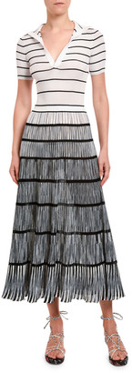 Missoni Degrade Polo-Top Dress