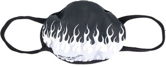 Vision Of Super Flame Print Face Mask