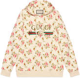 Gucci Sweat-shirt à capuche en coton