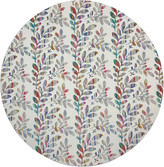 """N. Nicolette Mayer Tuileries 16"""" Round Pebble Placemats, Set of 4"""