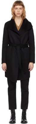 Mackage Black Wool Laila Coat