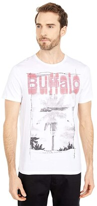Buffalo David Bitton Ticlimb Tee (White) Men's Clothing