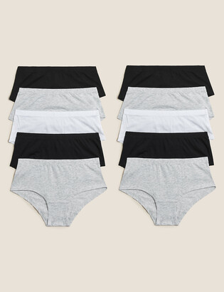Marks and Spencer 10 Pack Cotton Shorts (2-16 Yrs)