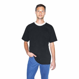 American Apparel Men's Heavy Jersey Sport Short Sleeve T-Shirt