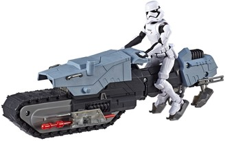 Hasbro Star Wars Galaxy of Adventures First Order Driver and Treadspeeder Toy