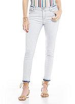 Celebrity Pink Release Hem Ankle Stretch Denim Skinny Jeans