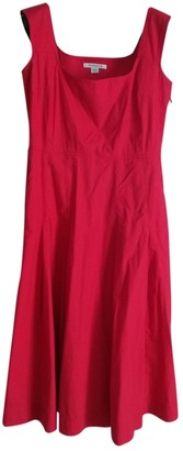 Marella Red Cotton Dress for Women