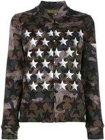 Valentino Camustars bomber jacket - women - Cotton/Polyamide - S