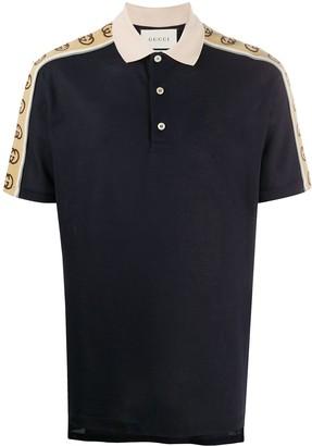 Gucci Logo-Tape Polo Shirt