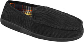 Muk Luks Men's Corduroy Moccasin with Flannel Lining