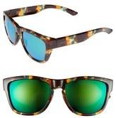 Smith Optics Women's 'Clark' 54Mm Sunglasses - Green Tortoise/ Green Sol-X