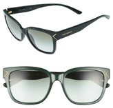 Tory Burch Women's 55Mm Gradient Sunglasses - Black