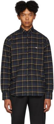 Etro Blue Check Regular-Fit Shirt