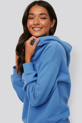 NA-KD Snap Button Hoodie