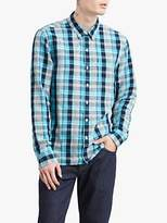 Levi's Sunset Pocket Check Shirt, Troost Dress Blues
