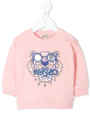 Kenzo Tiger Embroidered Logo Sweatshirt