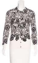 Dolce & Gabbana Wool Printed Cardigan