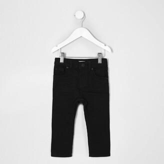 River Island Mini boys Black Sid skinny jeans