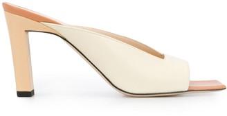 Wandler Square Toe Heeled Sandals