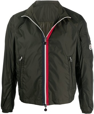 Moncler Zip Stripe Lightweight Jacket