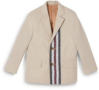 Burberry Kids Monogram Stripe Blazer (3-12 years)