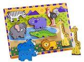 Melissa & Doug Chunky Safari Puzzle
