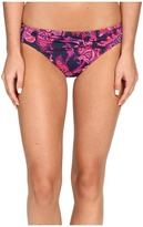 Tommy Bahama Jacobean Floral Twist-Front Hipster Bikini Bottom