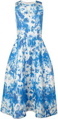Carolina Herrera Tie-Dyed Dress
