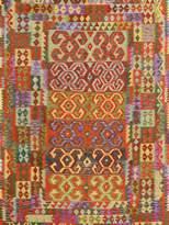 Arshs' Fine Rugs Kilim Arya Nathania Flatweave Hand-Woven Wool Southwestern Rug