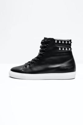 Zadig & Voltaire Frank Men Spike Sneakers