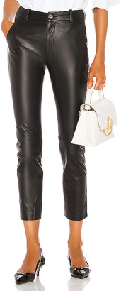 Nili Lotan Montauk Leather Pant